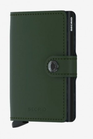 Secrid Miniwallet, Green-Black