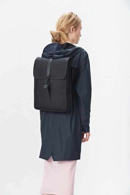 Rains Mini Backpack, Black