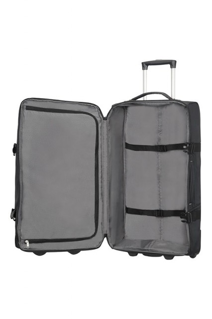 Samsonite Rewind Duffle Bag with Wheels 68 cm, Black